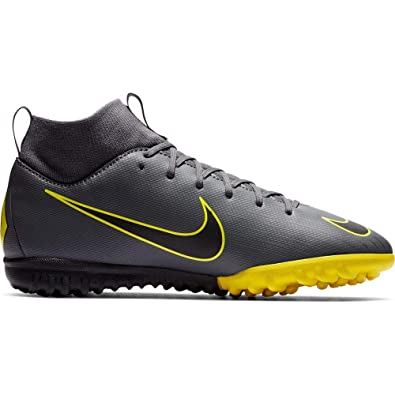 buy popular ab505 7fd72 Amazon.com | Nike Junior Mercurial Superfly X VI Club TF ...