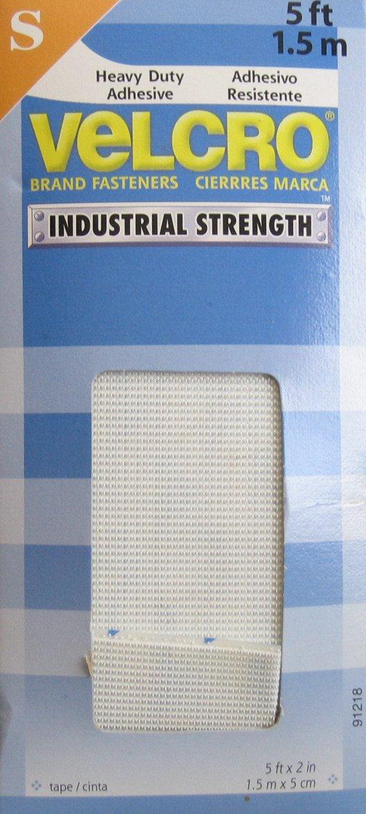 Heavy Duty VELCRO Industrial Strength ADHESIVE Fastener 5 Feet x 2''