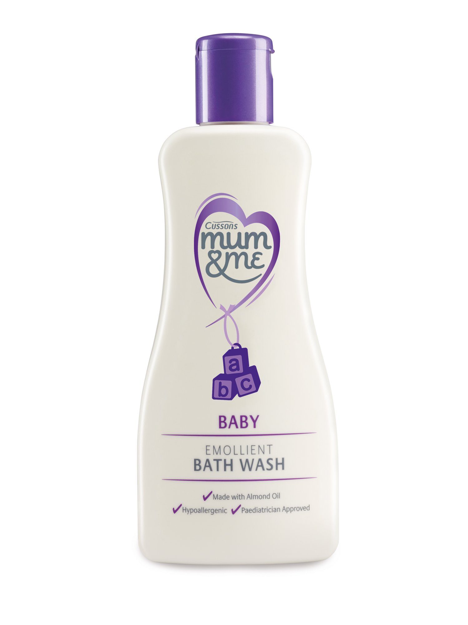 Cussons Mum and Me Baby Emollient Bath Wash