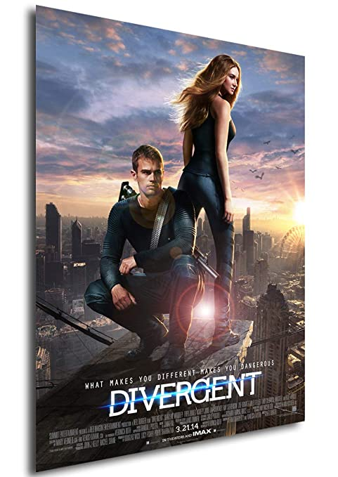 Instabuy Poster Cartel de pelicula - Divergente (A3 42x30 ...