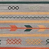 Stone & Beam Casual Geometric Cotton Rug, 4' x