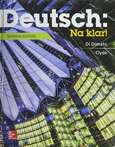 Deutsch: Na Klar! An Introductory German Course, Student Edition with Connect Access Card