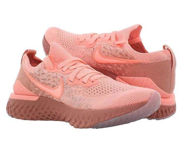 Nike Epic React Flyknit 2, Zapatillas de Running para Mujer, Rosa (Pink Tint/Pink Tint/Rust Pink/Celestial Gold/Black 600), 41 EU: Amazon.es: Zapatos y complementos