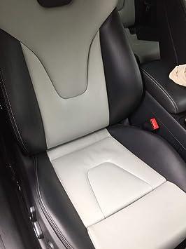 Ledertechnik 30ml Lederfarbe Passend Für Audi Leder Beseitigt Abnutzungsspuren Am Leder Kunstleder Mondsilber Auto
