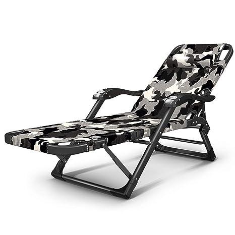CHDE Chaise Lounge Sillón reclinable Plegable audaz 30X15mm ...