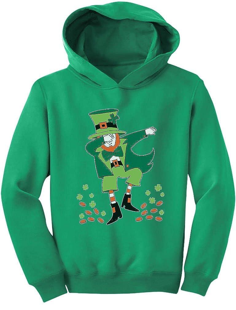 Patricks Day Clovers Dabbing Leprechaun Toddler Hoodie Tstars St