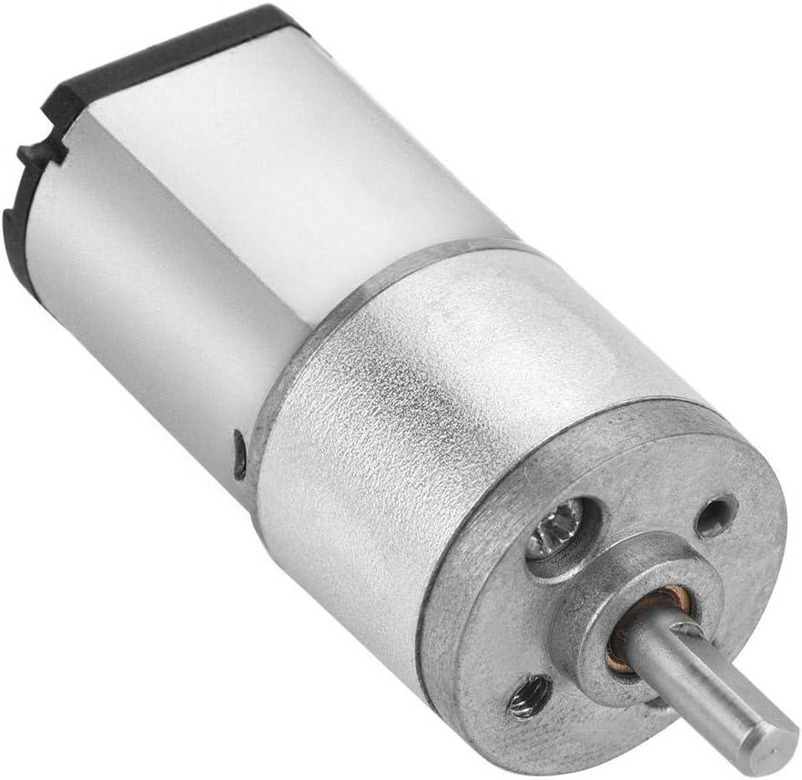 Hochpr/äzise Micro-Getriebemotor Metalldrehzahlreduzierung Getriebemotor 16GA030 DC 6 V // 12 V 12V 30RPM f/ür Smart Car Electronic Lock