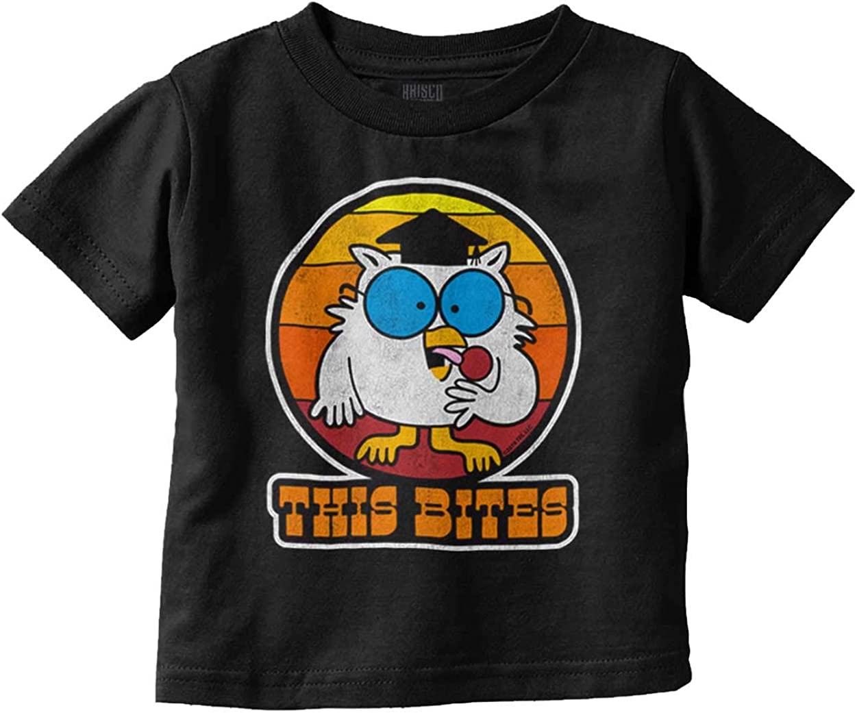 This Bites Tootsie Roll Pop Candy Mr Owl Infant Toddler T Shirt