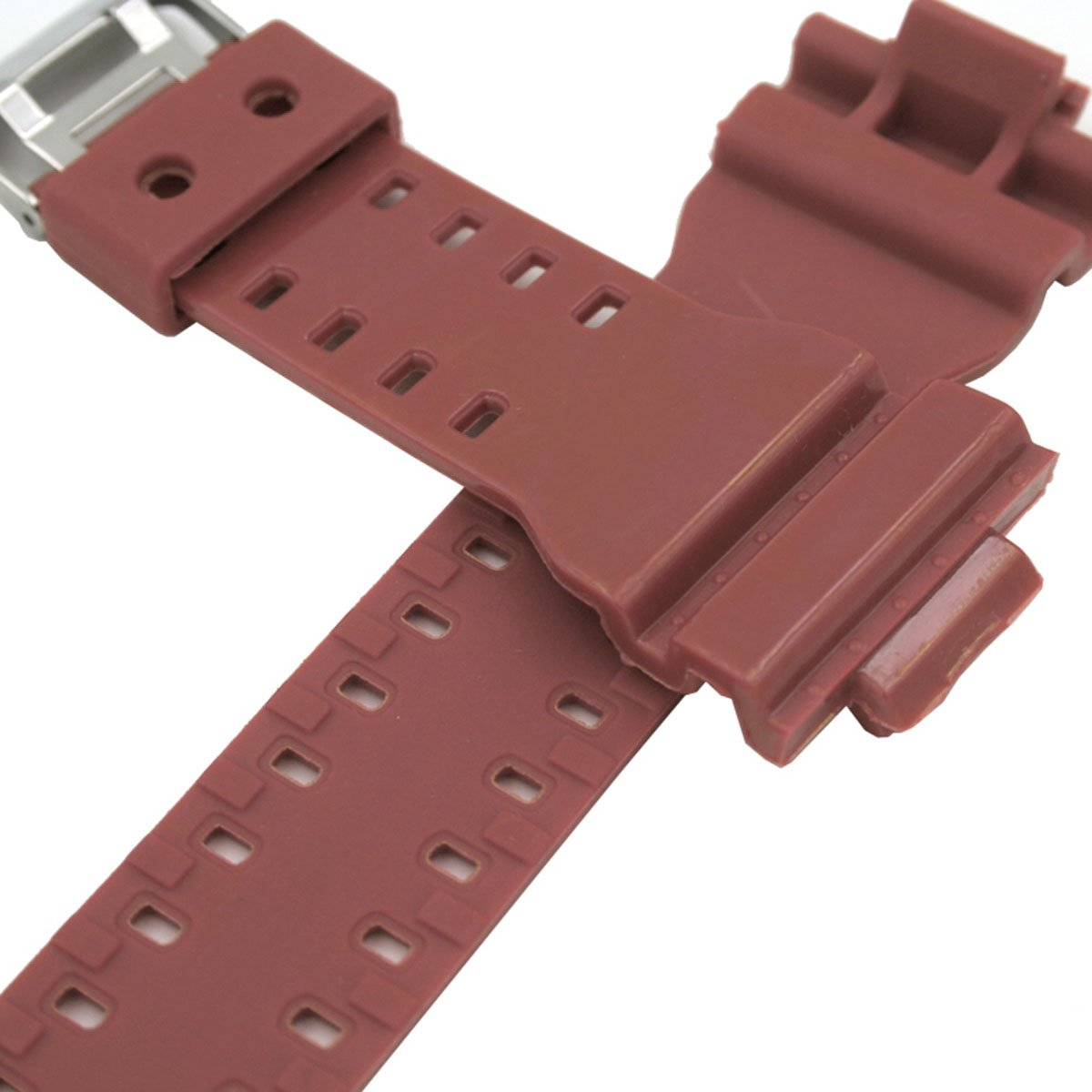 f1c73b866d50 Natural Resin Replacement Watch Band Strap for Casio Mens G-Shock GD120 GA-