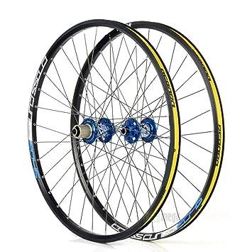 "Man-Bicycle Accessories Juego de Ruedas Mountain Bike Disc MTB Ruedas de Carretera 26"""