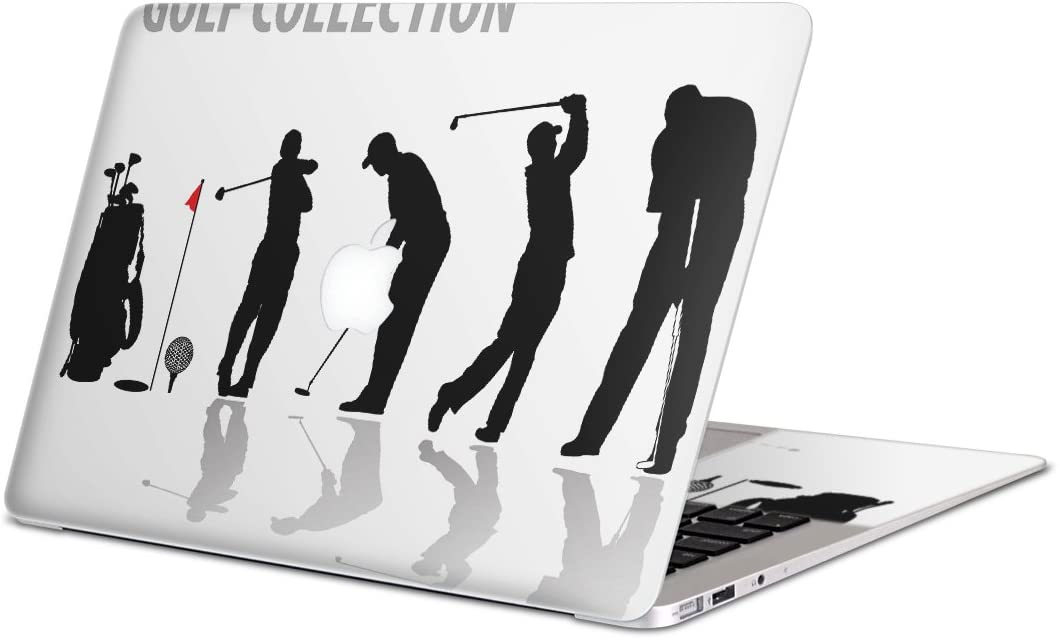 igsticker Ultra Thin Premium Protective Body Stickers Skins Universal Decal Cover for MacBook air 2008-2017(Model A1369/A1466) 000140 Golf Shot Illustration