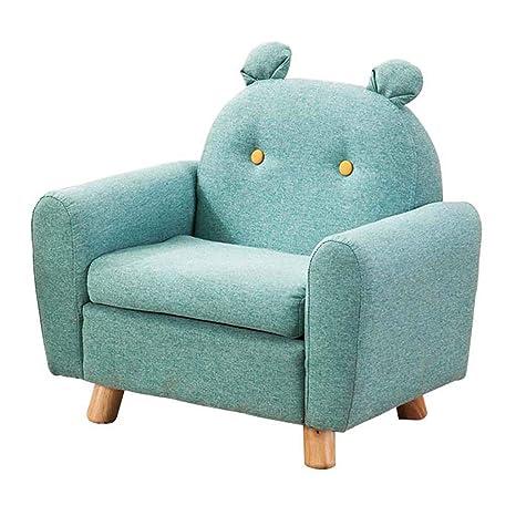 Amazon.com: Sofá de madera para niños con diseño de dibujos ...