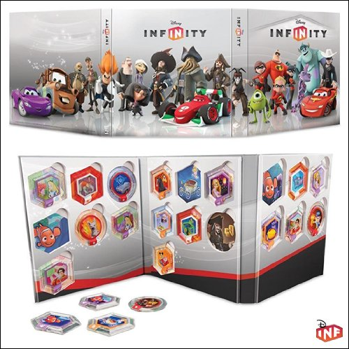 Disney Infinity - Series 1 Power Discs - Complete Set with Album Case