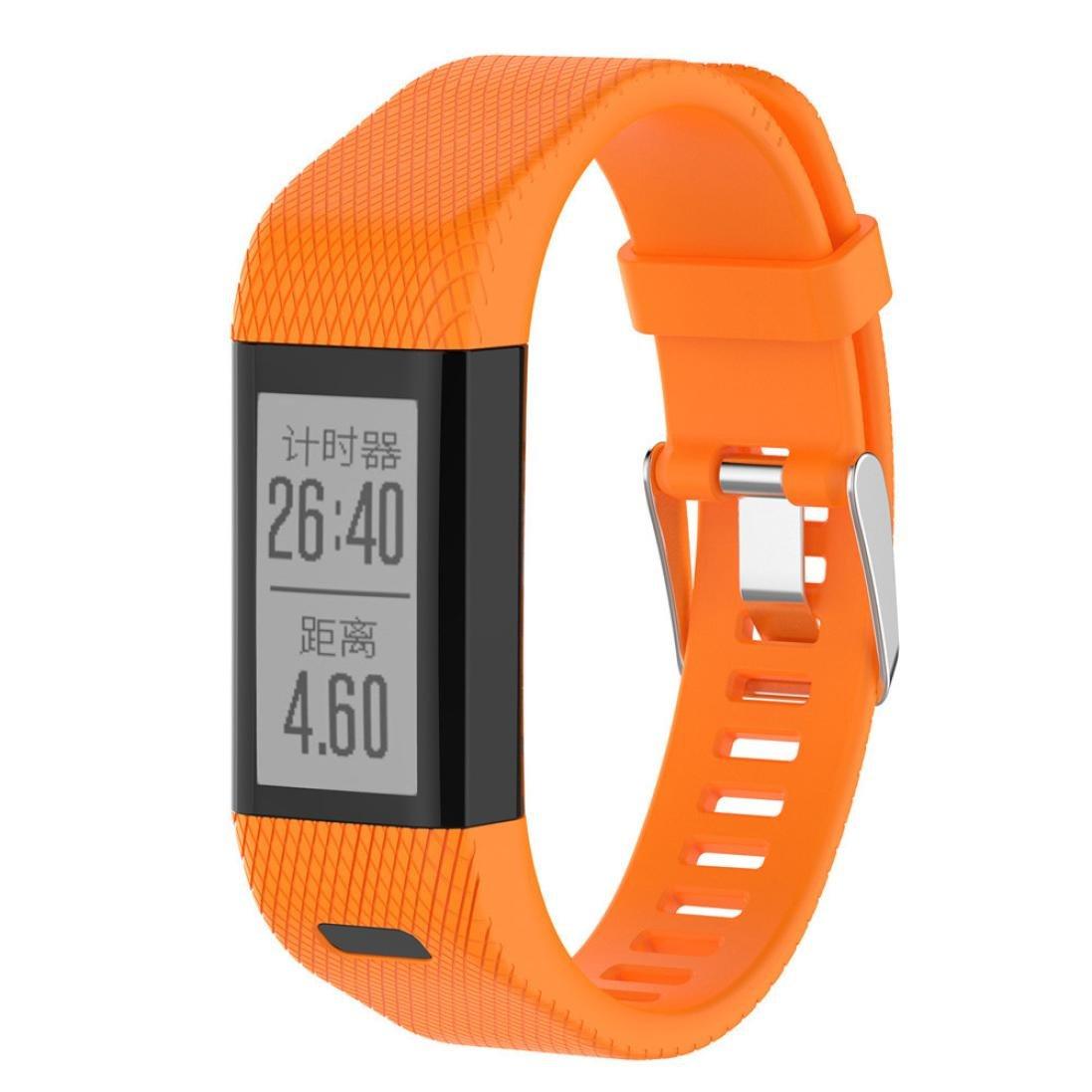 SamLike Replacement Band Strap Silicone Wrist Band Bracelet for Garmin Vivosmart HR +