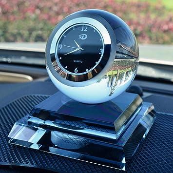 Amazon.es: Relojes cristalinos del Coche Decoración del Perfume Bolas cristalinas innovadoras Perfume Decoraciones Interiores del Coche