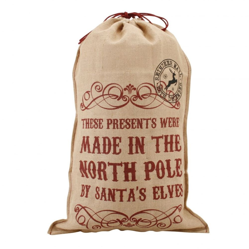 'These Presents Were Made..' Hessian Santa Sack Luck and Luck