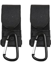 Buggy Clips Baby Pram Pushchair Stroller Hooks 2PCS Black