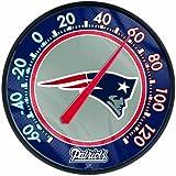 Patriots WinCraft NFL Round Thermometer