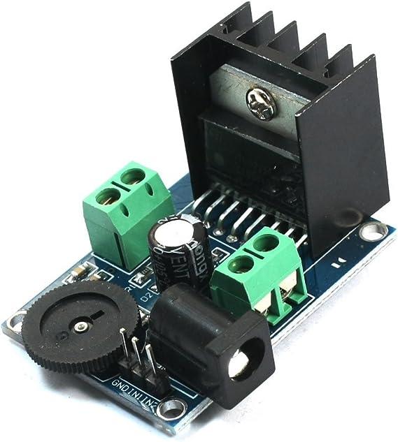 DIY Doble Canal 7W + 7W TDA7266 Amplificador de audio Módulo DC 3 ...