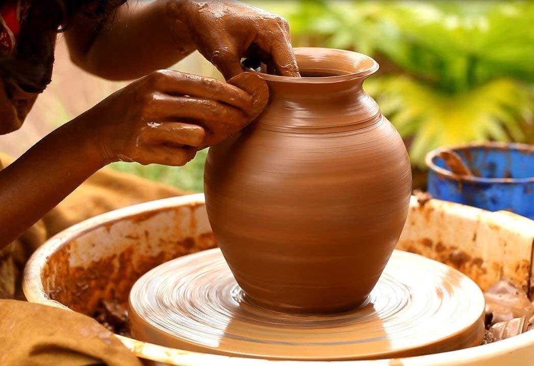 Sara Earthenware Terracotta Clay,1 Kg: Amazon.in: Home & Kitchen