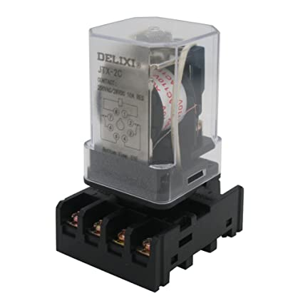 Pleasing Amazon Com Twtade Jtx 2C Mk2P I Dpdt Power Relay With Plug In Wiring Cloud Rectuggs Outletorg