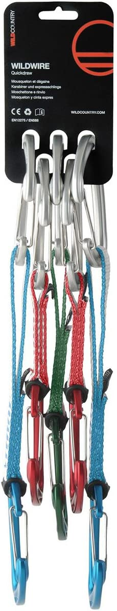 Wild Country Wildwire Quickdraw Trad 5 Pack Set: Amazon.es ...