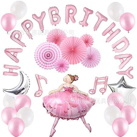 Globo de látex chica de ballet combinación de globos nota ...