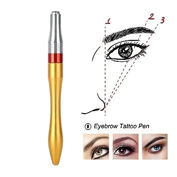 Pluma de tatuaje para cejas - Lápiz de maquillaje permanente ...
