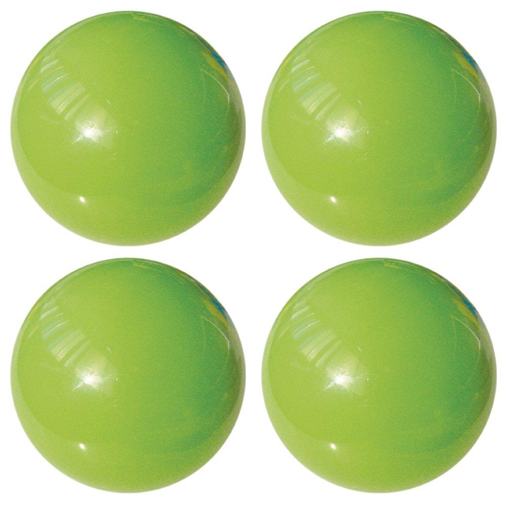 L'agape Set de Pomos para Armario, Cajones, Resina, Verde, 3.50x3.50x3.50 cm, 4 Unidades L' Agape TH2 22B X4