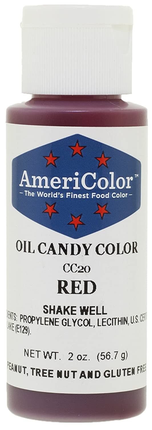 Amazon.com: Americolor Candy Oil Food Color, 2-Ounce, Red: Kitchen ...