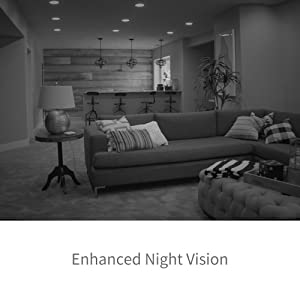 Foscam Home Security Camera, R4 2K Ultra HD (4.0 MP) WiFi IP Camera, Pan Tilt 8x Digital Zoom, Optional Cloud Service Available, Rubber Black