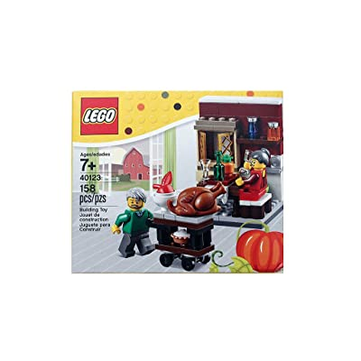 LEGO Seasonal Thanksgiving Feast (40123): Toys & Games