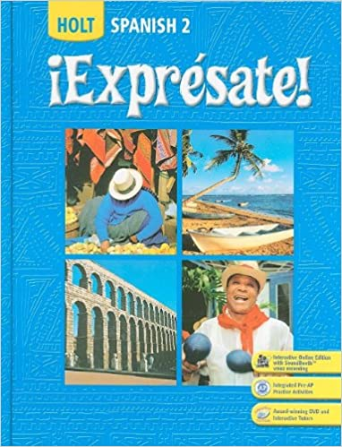 Amazon expresate spanish 2 holt spanish level 2 spanish 2 holt spanish level 2 fandeluxe Image collections