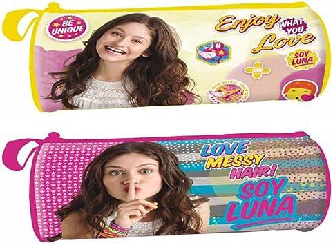 YO Soy Luna de Disney Estuche portatodo cilindrico: Amazon.es: Juguetes y juegos