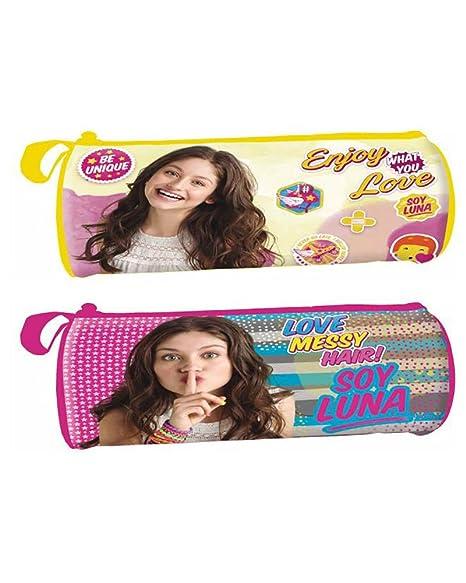 YO Soy Luna de Disney Estuche portatodo cilindrico: Amazon ...