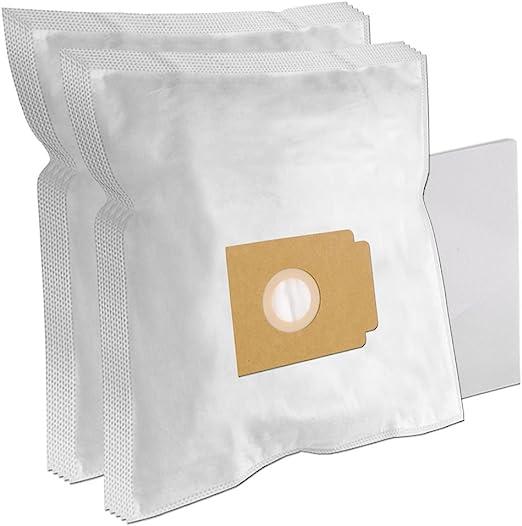 10 Bolsas de aspiradora para UFESA Mat 401, 502 Electronic: Amazon.es: Hogar