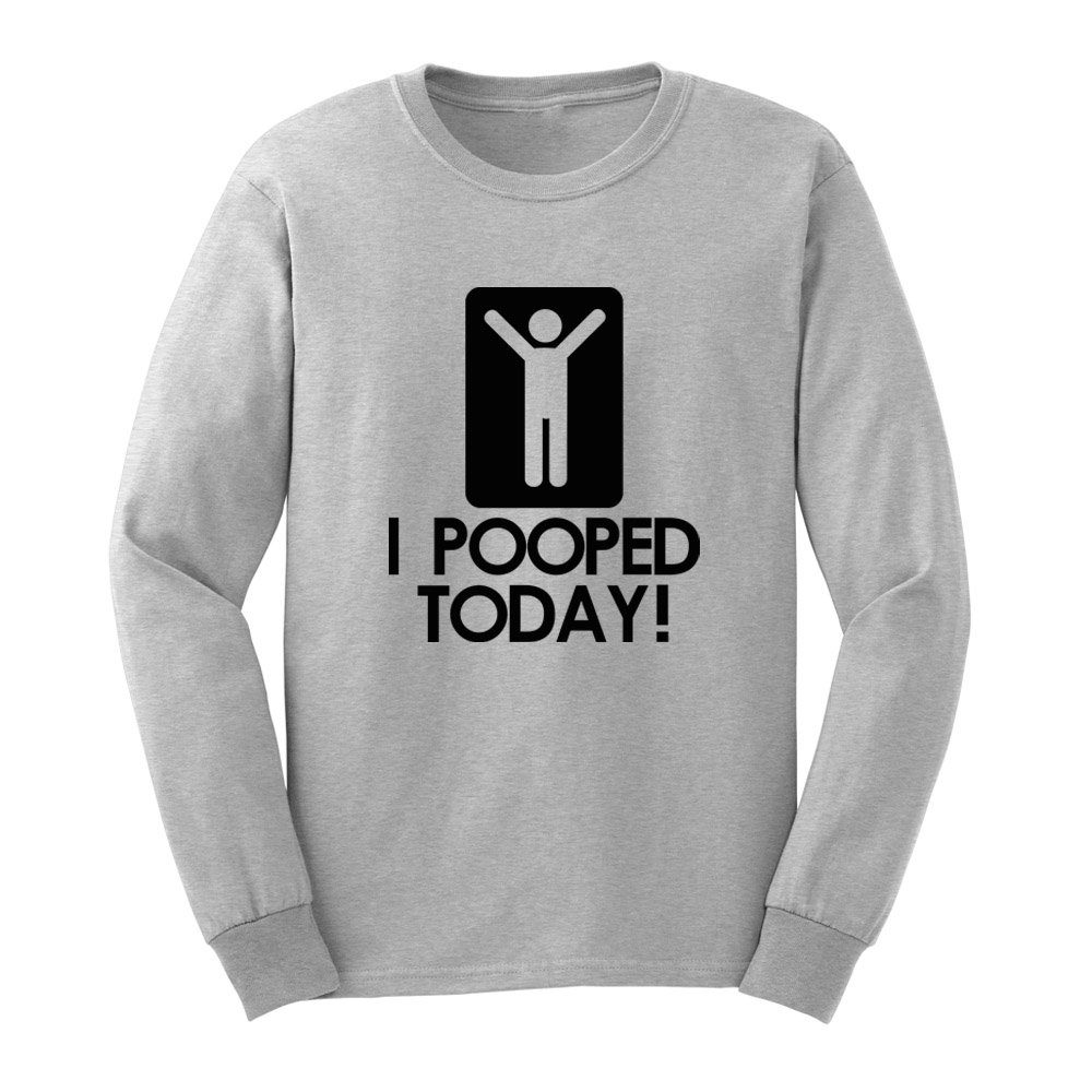 Loo Show S I Pooped Today Funny Adult T Shirts Casual Tee