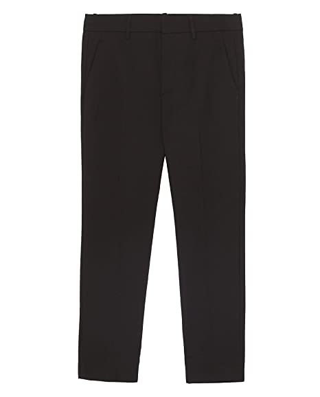 c826d540 Zara Women's Chino Trousers 7290/042 Black: Amazon.co.uk: Clothing