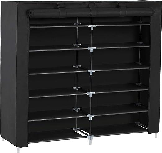 Wooden 6//7 Tier Shoe Storage Cabinet Footwear Rack Stand Organiser Shelves Unit