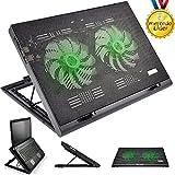 Suporte para Notebook com 2 Coolers Acoplados AC267 Preto Multilaser