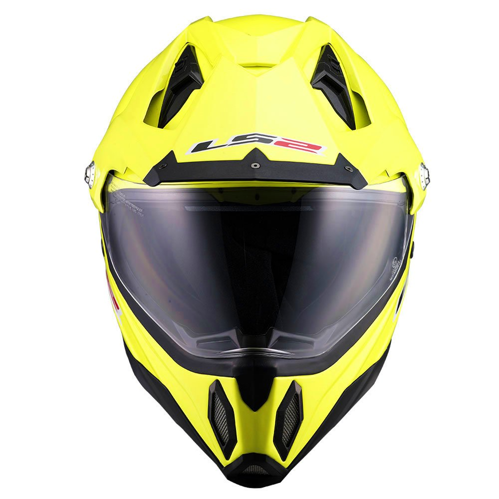 Amazon.com: LS2 MX453 Solid Off Road Helmet (Hi-Vis Yellow, Large): Automotive