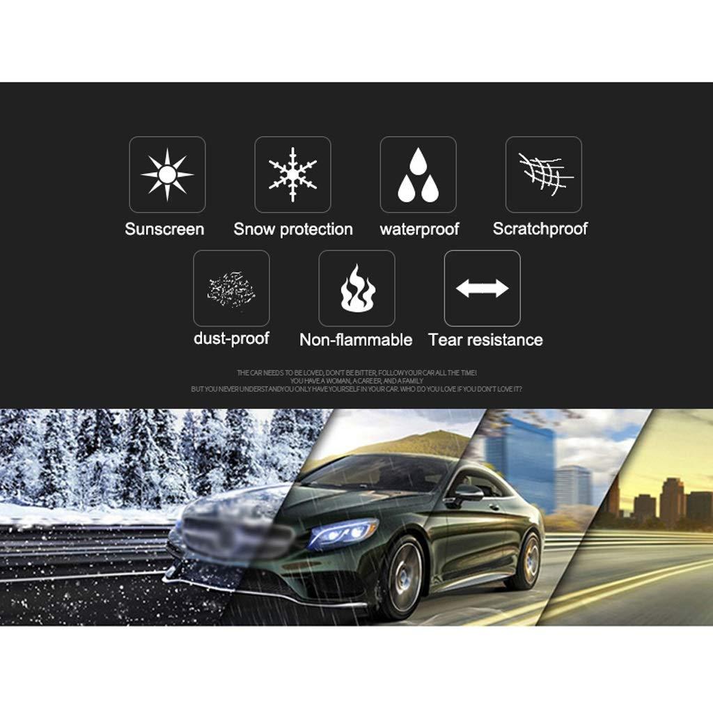 LUXZ-Cubierta de coche Compatible Con Porsche 911 Cubierta Del Coche Impermeable Y Transpirable Protector Solar A Prueba De Lluvia Cubierta Del Coche Del Coche Carpaulin