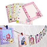 Mini Hanging Picture Frames - Cute Pictures For Walls - 9 pcs/set 6 Inch Wall Hanging Cute Animal Paper Photo Frame for Pictures - Cute Picture Frames - Colorful Picture Frame Set