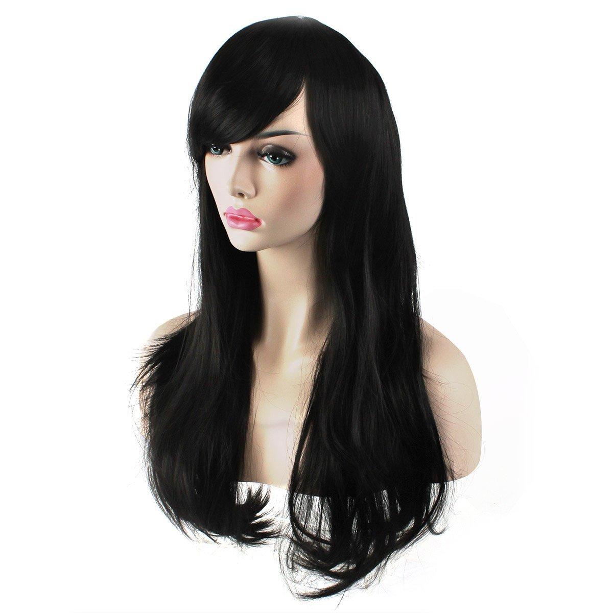 3da350c345f2bf Rubies Elvira Mistress Of The Dark Long Wig Black One Size Rubies Costumes  Apparel 51732 Clothing, ...