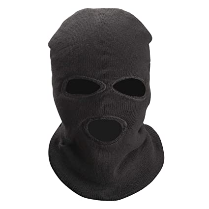 ced4b841fac Image Unavailable. Image not available for. Color  TOBWOLF 3Pcs 3-Hole Ski  Mask