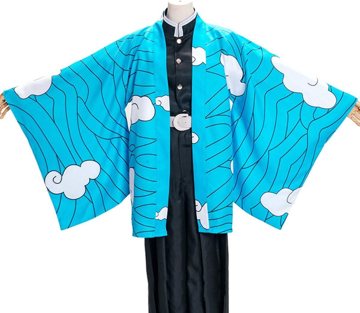 鬼滅の刃 (きめつのやいば) コスプレ衣装 鱗滝左近寺 (うろこだきさこんじ)