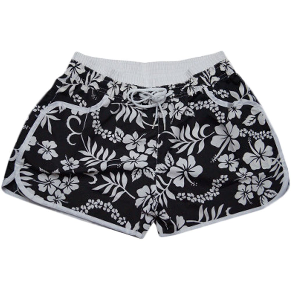 Leisure Beach Pants Sport Shorts Quick-drying Loose Hot Pants(Black) BT-CLO1288633011-MC01021