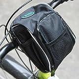 BephaMart Bike Bicycle Handlebar Bar Bag Front Frame Pannier Tube Rack Basket Shipped and Sold by BephaMart