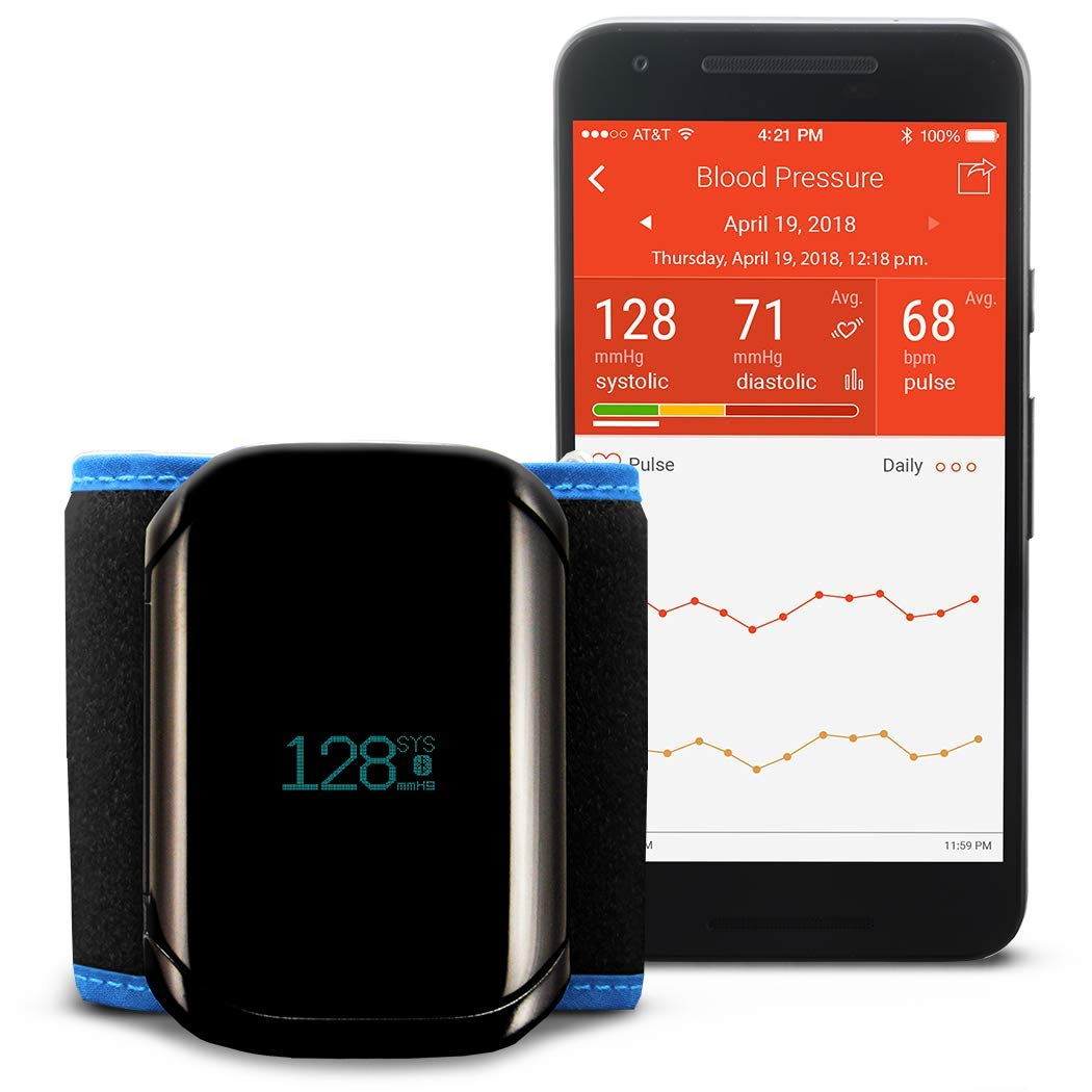 A&D Medical ULTRACONNECT Wireless Wrist Blood Pressure Monitor (UB-1100BLE)