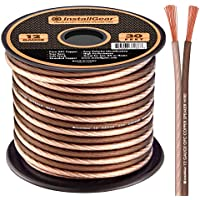 InstallGear 12 Gauge Speaker Wire - 99.9% Oxygen-Free Copper - True Spec and Soft Touch Cable (30-feet)
